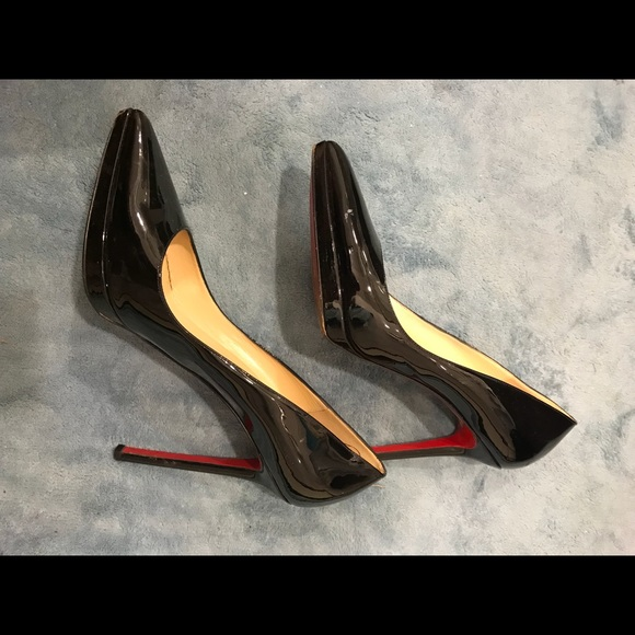 new product f3f8b 1a286 Christian Louboutin Pigalle Patent Leather